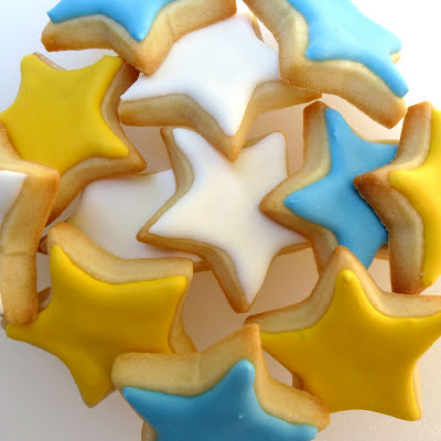 Star Cookies by Nina's Show & Tell