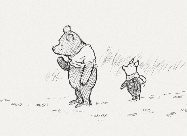 "15 Incredibly Wise Truths We Learned From Winnie The Pooh - Piglet: ""How do you spell 'love'?"