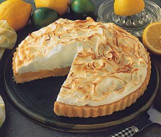 Pie de Limón, Postre