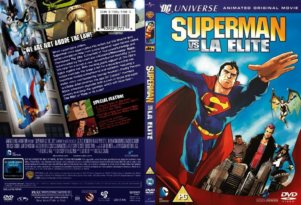 Superman Vs La Elite DVD