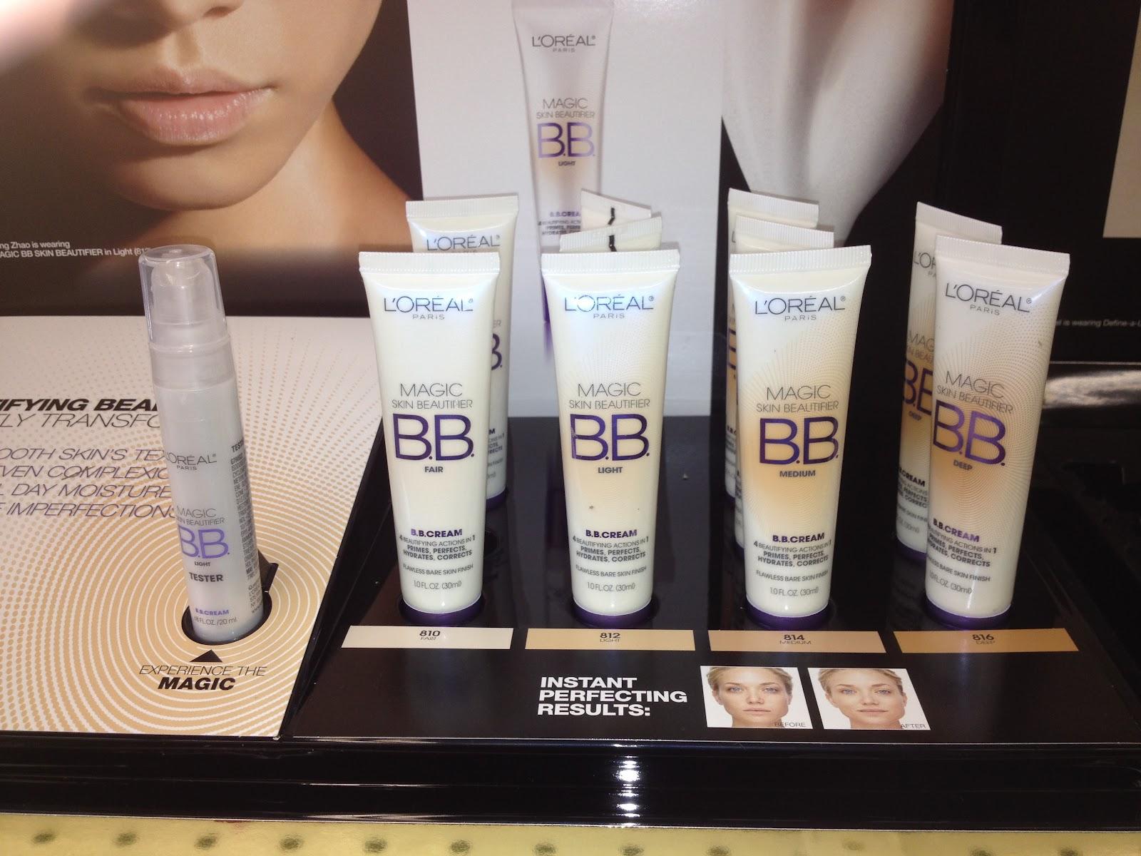 L'Oreal BB Cream Display 2012