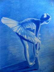 Ballerina blu