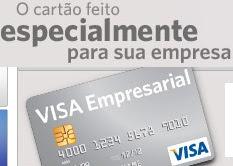 Cartão Visa Empresarial