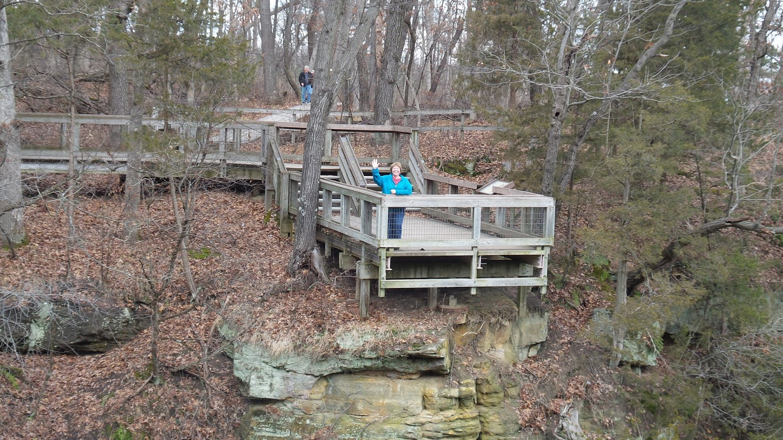 Hike With Edna: Dec. 10, 2015 Starved Rock, French, Wildcat ...