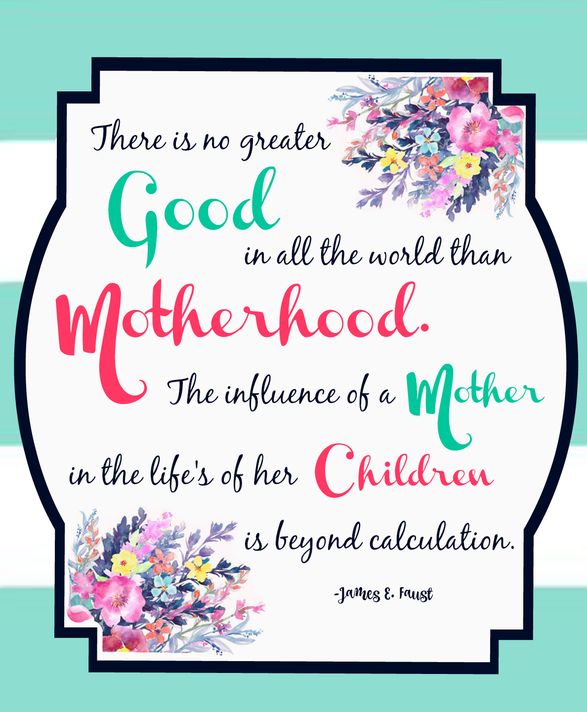 MOTHER'S DAY PRINTABLE  CLICK IMAGE TO DOWNLOAD