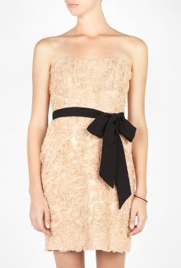 Nude Sydney Strapless Dress