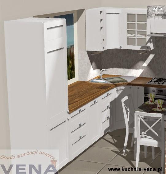 Meble kuchenne Lublin -Vena- klimatyczna kuchnia