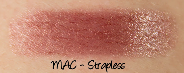 MAC Monday: Formal Black - Strapless Lipstick Swatches & Review
