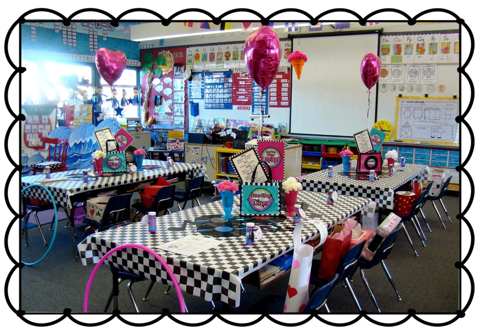 Classroom Party Ideas ~ Sailing through st grade our valentine s party