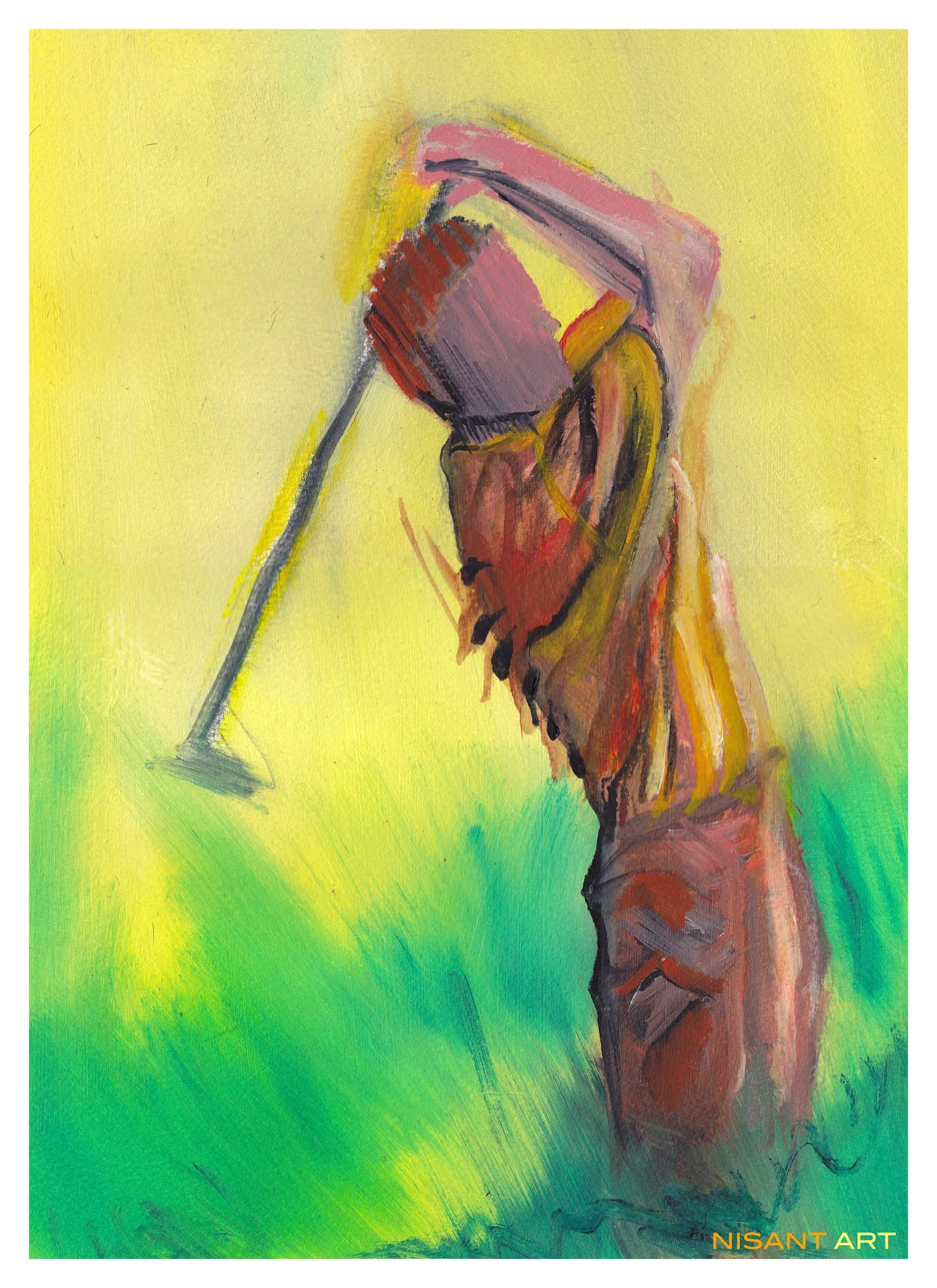 Golf Art Collection: Collections - Abstract & Bespoke