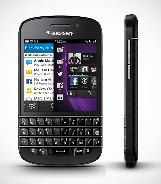BlackBerry Q10, Smartphone Berbasis BlackBerry 10 dengan Keypad QWERTY