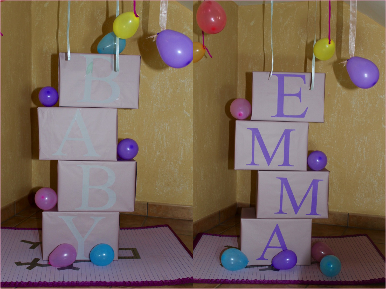 Hecho por Bugui Decoraci³n fiesta BABY SHOWER