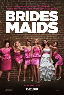 Watch Bridesmaids 2011 BRRip Hollywood Movie Online | Bridesmaids 2011 Hollywood Movie Poster