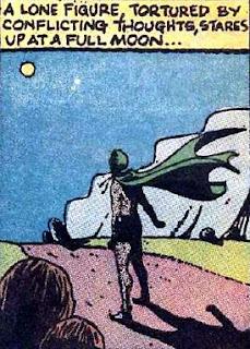 Secret Origins #5, the Spectre walks this world alone