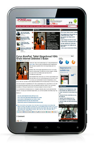 Review Spesifikasi Cyrus Atompad