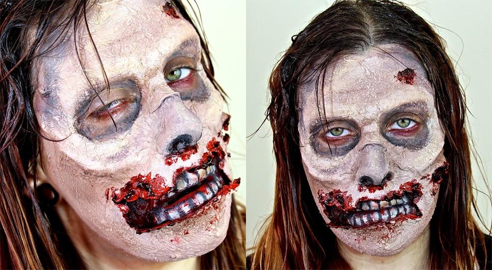www.LetzMakeupBlog.com: Zombie Makeup Tutorial | Halloween 2014