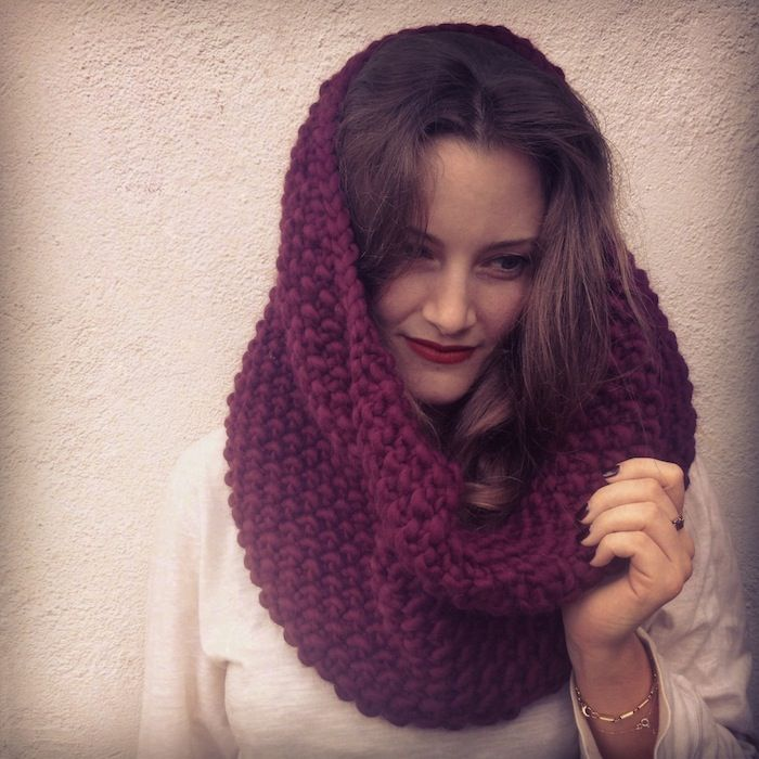 Lovely Yarn Escapes : A Seed Stitch Cowl