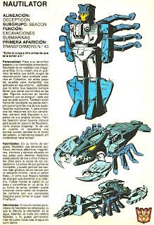 Nautilator (ficha transformers)