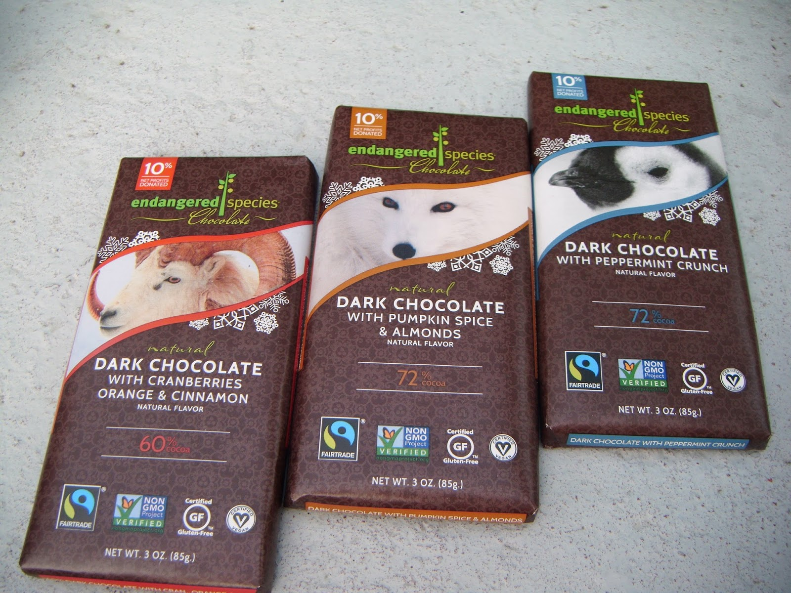 The ABCD Diaries: Holiday Gift Idea: Endangered Species Chocolate ...