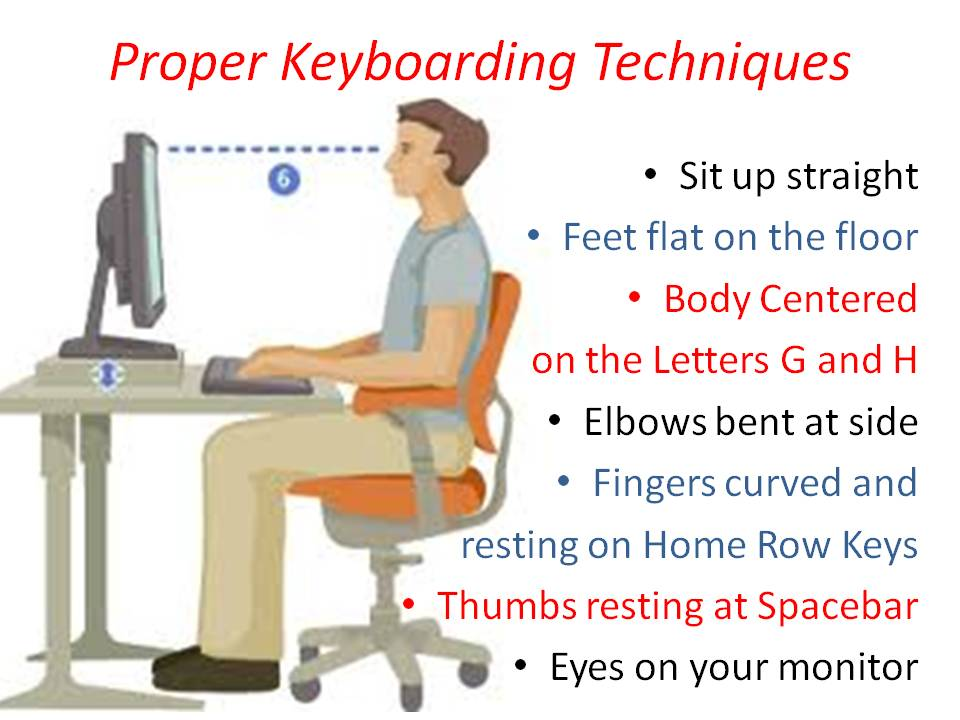 Keyboarding Techniques Worksheet Further Esl Worksheet Reading ...