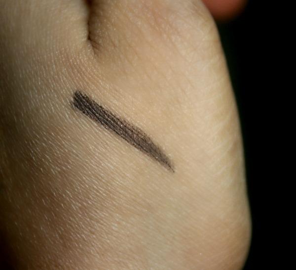 Bobbi Brown Long-Wear Gel Eyeliner in Chocolate Shimmer Ink Swatch