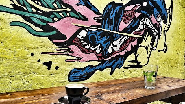 Volcano Coffee Works, Hackney // 76sunflowers