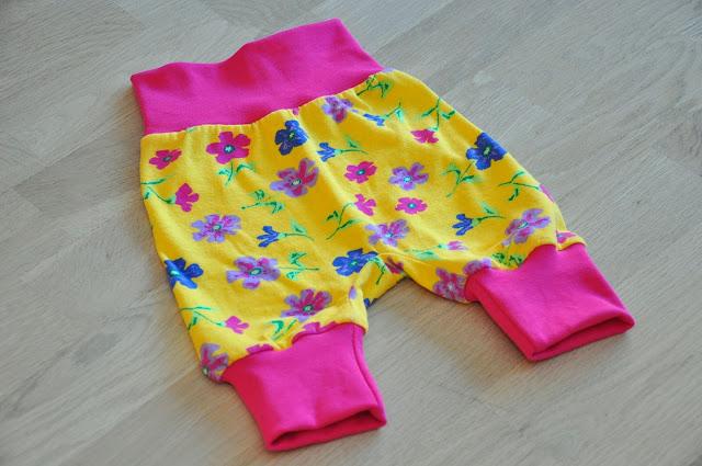 hjemmesyet baby bukser