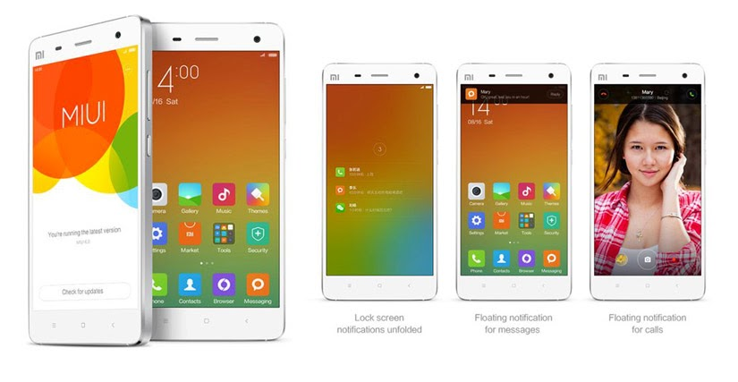 Android -- MIUI Custom ROM 6 version of the iOS similar Xiaomi 7