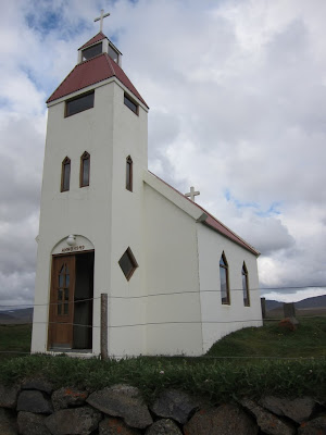 Modrudalur's Church, Iceland