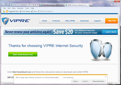Vipre Internet Security Software Review