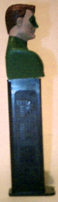Right side of Green Lantern bust PEZ