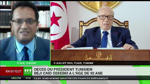 Béji Caïd Essebsi avait une énergie incroyable malgré son âge