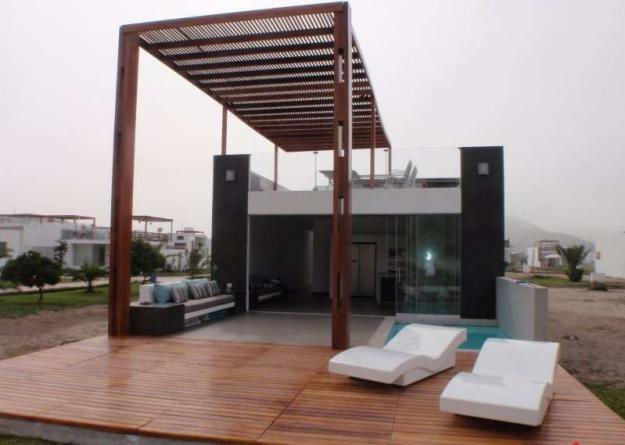 maderas dise os proyectos techos de madera. Black Bedroom Furniture Sets. Home Design Ideas