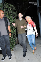Christina Aguilera out in LA