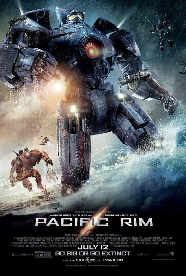 Pacific Rim (Titanes del pacífico) (2013) [Latino]