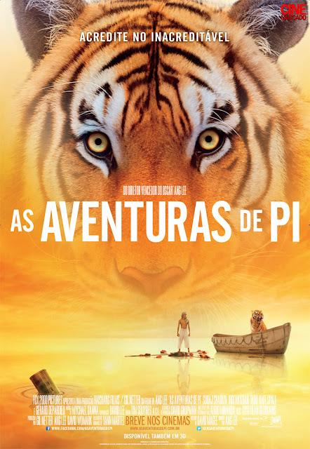 As aventuras de Pi- poster