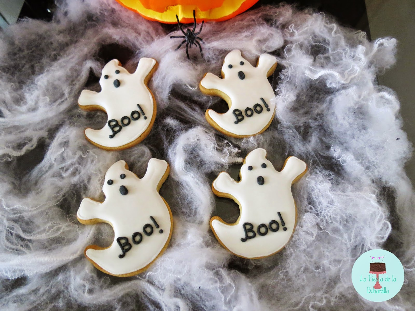 Galleta Fantasma Halloween