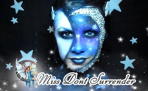 Maquillaje Dos caras de la Luna por Miss Dont Surrender