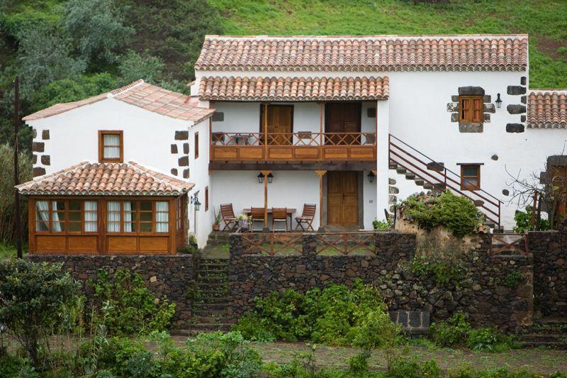 Bokcaf et i byn annorlunda boende p kanarie arna for Casa rural con piscina en tenerife
