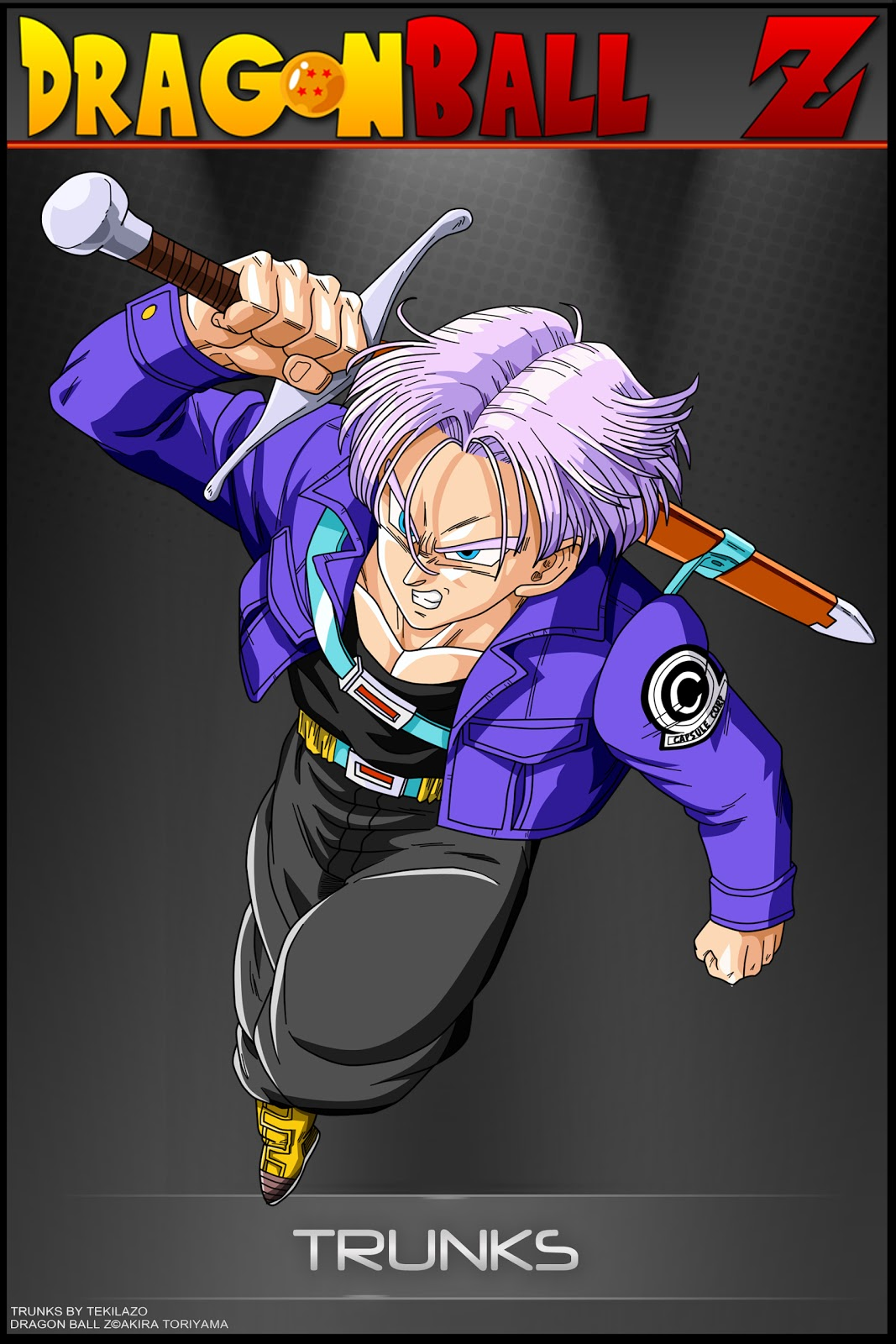 Dragon ball z wallpapers adult trunks - Photo dragon ball z ...
