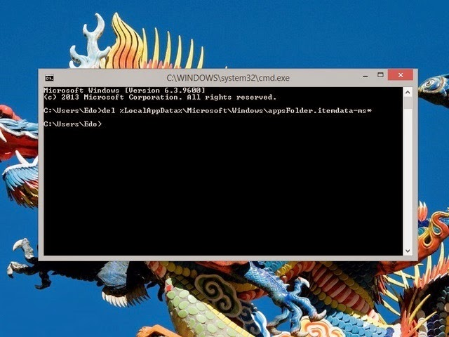 Cara Untuk Me-reset Default Pada Tampilan Start Screen Windows 8