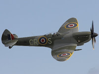 Spitfire fighter airplane