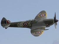 Spitfire fighter airplane