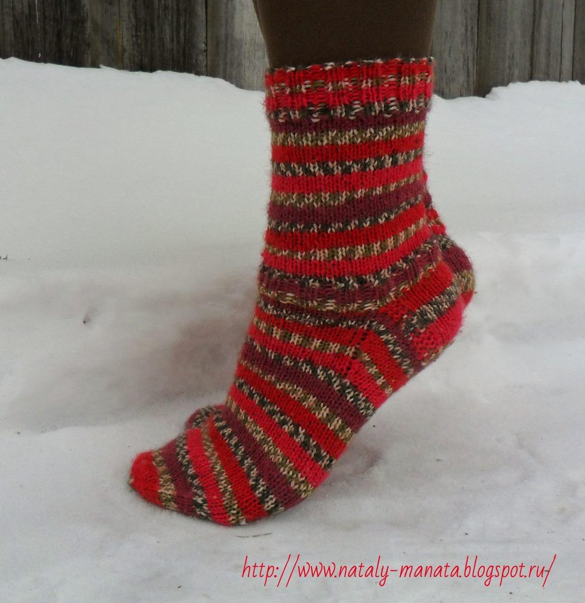 Картинки вязаные новогодние маленькие носочки