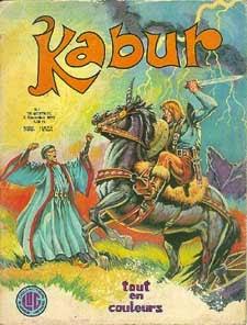 Portada de Kabur #1 Ediciones Lug