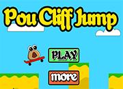 juegos de Pou Cliff Jump