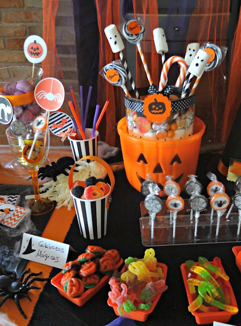 Celebra con ana compartiendo experiencias creativas for Decoracion mesa halloween
