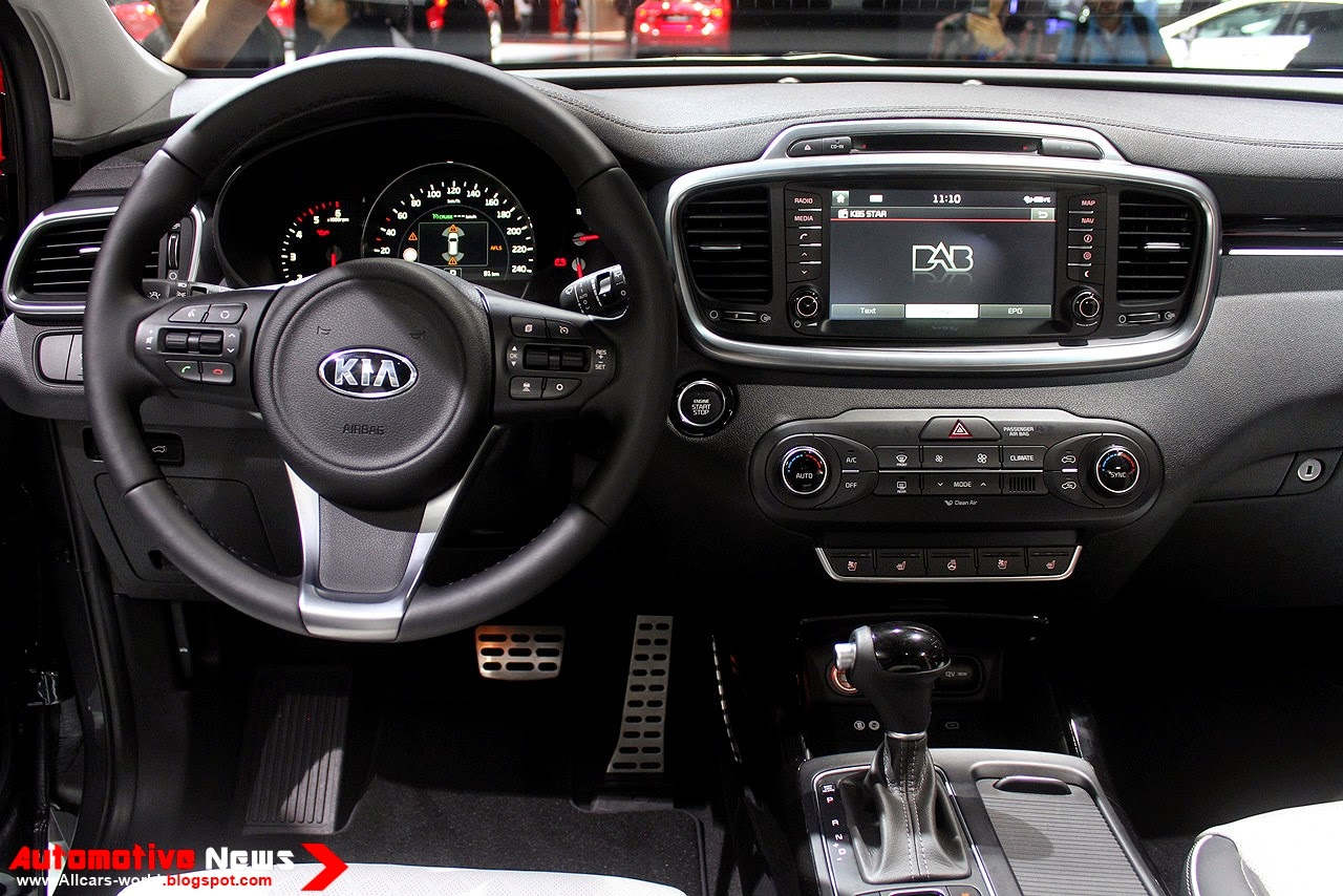 The 2015 Kia Sorento Is A Vehicle Thatu0027s Family Sized, Albeit Modestly So.  At Around 184 Inches Long, Riding On A Wheelbase Of 106.3 Inches, Itu0027s  Shorter ...