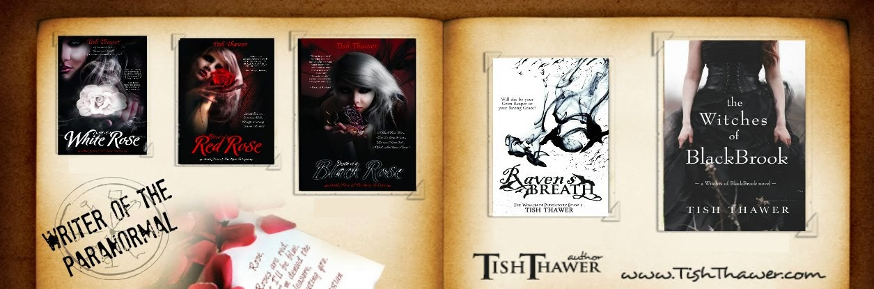 Tish Thawer ❖ Award Winning Paranormal Romance Author