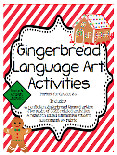 http://www.teacherspayteachers.com/Product/Gingerbread-ELA-Mini-Unit-w-a-Research-Project-996872